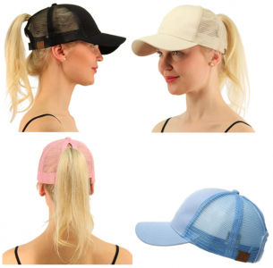 Amazon: Ponytail Baseball Caps As Low As $12 (Lots of Fun Colors)