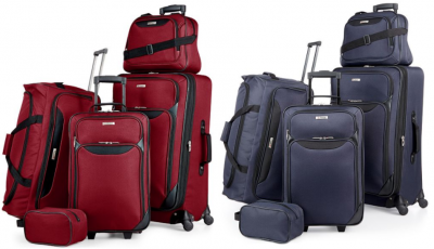 Macy's: Tag Springfield 5-Piece Luggage Set Just $59.99 (Reg. $200) + Free Shipping!