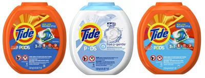 Amazon: Tide PODS Detergent Pacs 81-ct Only $15.17 & More!