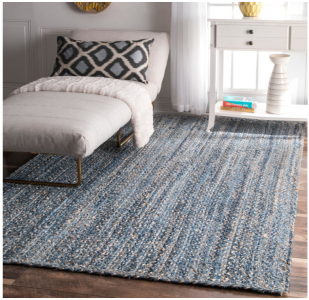 Amazon: nuLOOM Denim Hand Braided Area Rug (4×6) Only $49.72! (Lowest Price)