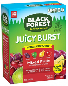 Amazon: Black Forest Medley Juicy Center Fruit Snacks (40 ct) Only $4.64 (#1 Best Seller)
