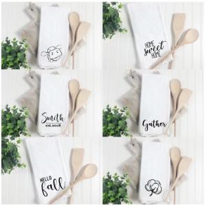 Jane.com: Farmhouse Kitchen Towels Only $11.99! (Customizable)