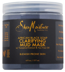 Shea Moisture: Free African Black Soap Mud Mask Sample