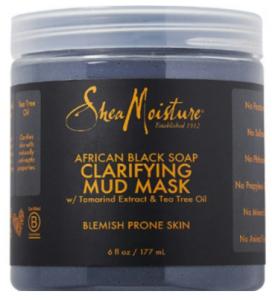 Shea Moisture: Free African Black Soap Mud Mask Sample