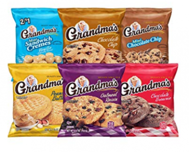 Amazon: Grandma's Cookies Variety Pack (30 ct) Just $9.96! (Sooo Good)