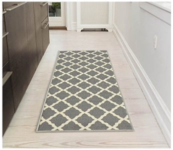 Amazon: Grey Lattice Area Rug Only $14.25 Shipped!