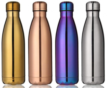 Amazon: KINGSO Insulation Stainless Steel Water Bottle Just $8.55 (Best Price!)