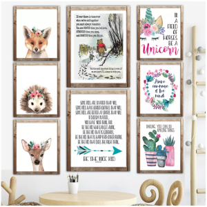 Jane.com: Kid's Art Prints Just $2.97! (Dozens of Cute Styles)