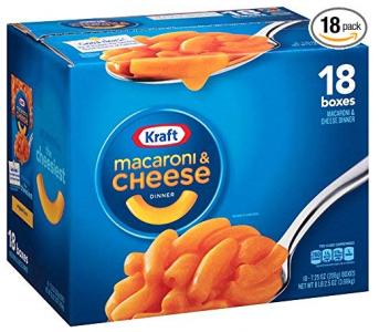 Amazon: Kraft Macaroni & Cheese (18-Pack) Only $9.99 ($0.55 Per Box!)