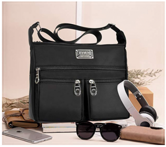 Amazon: Lightweight Water-Resistant Crossbody Bag ONLY $7.69! (Reg. $49.99)