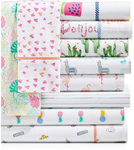 Macy's: Martha Stewart Whim Sheet Sets Only $16.99! (Tons of Cute Patterns)