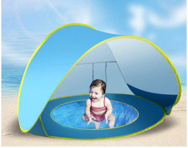 Amazon: Baby Portable Pop Up Sun Shade Only $18.99 (Lowest Price!)