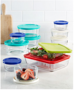 Macy's: Pyrex 22-Piece Food Storage Set Only $29.99 (Reg. $79.99)