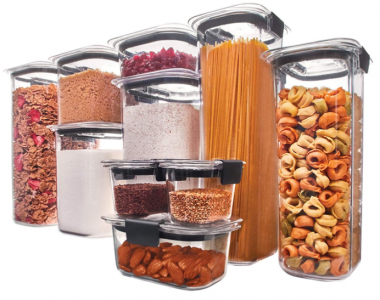 Amazon: Rubbermaid 20-Piece Food Storage Container Set Just $41.95 (Lowest Price!)